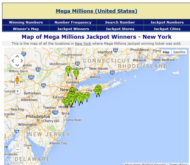 newyork map