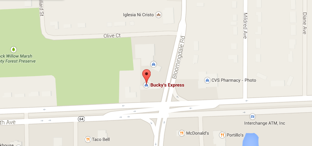 Bucky's Express in Glendale Heights
